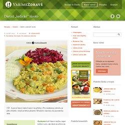 """Vaříme zdravě » Dietní """"indické"""" rizoto"""