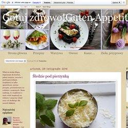 Gotuj zdrowo!Guten Appetit!: Śledzie pod pierzynką