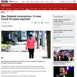 New Zealand coronavirus: 14 new Covid-19 cases reported
