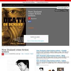 New Zealand crime fiction writers