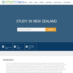 Study In New Zealand - Choose Your Best Education Destination!!