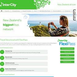 New Zealand Bus Passes // Flexible Backpacker Bus Pass
