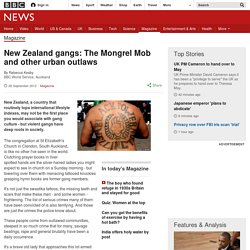 New Zealand gangs: The Mongrel Mob and other urban outlaws