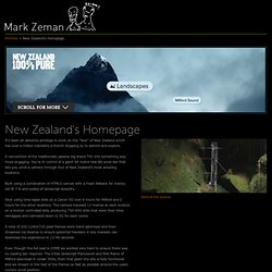 New Zealand's Homepage | Mark Zeman