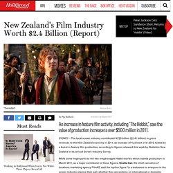 New Zealand's Film Industry Worth $2.4 Billion (Report)