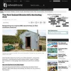 Tiny New Zealand libraries tell a fascinating story - Travel