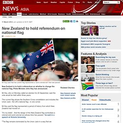 New Zealand to hold referendum on national flag