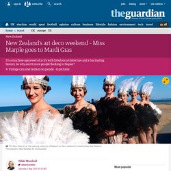 New Zealand's art deco weekend – Miss Marple goes to Mardi Gras