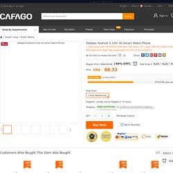 Best Zeblaze Android 5.1OS 3G Smart Watch Sale Online Shopping