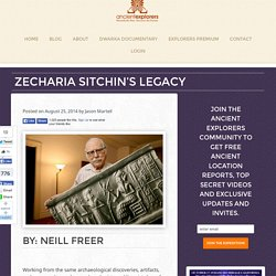 Zecharia Sitchin's Legacy