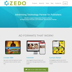ZEDO Advertising Technology Partner
