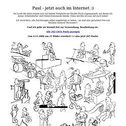 Paul - Zeichnungen für die freie Verwendung
