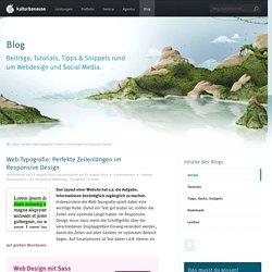 Web-Typografie: Perfekte Zeilenlängen im ResponsiveDesign