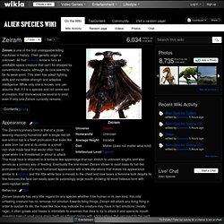 Zeiram - Alien Species Wiki - Aliens, UFOs, Space aliens