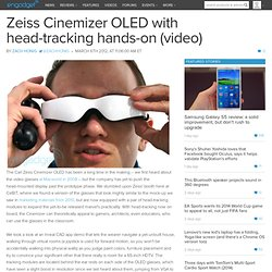 Zeiss Cinemizer OLED with head-tracking hands-on (video)