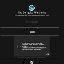 The Zeitgeist Film