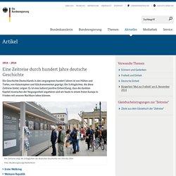 Zeitreise durch hundert Jahre deutsche Geschichte