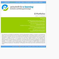 ZEL 3/2011 - 6. Jahrgang: E-Portfolios