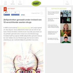 Zelfportretten gemaakt onder invloed van 13 verschillende soorten drugs