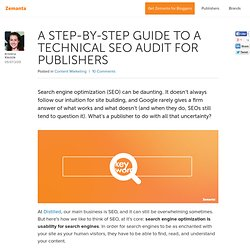 A Step-by-Step Guide to a Technical SEO Audit