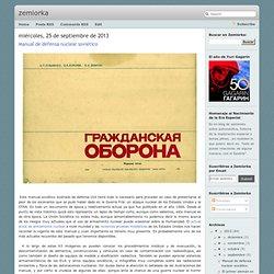 Manual de defensa nuclear soviético