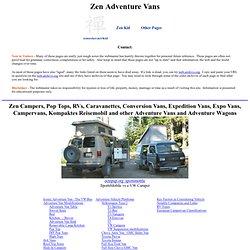 Zen Adventure Van Page