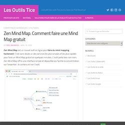 Zen Mind Map. Comment faire une Mind Map gratuit