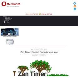 Zen Timer: Elegant Pomodoro on Mac
