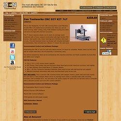 Zen Toolworks: Zen Toolworks CNC DIY KIT 7x7