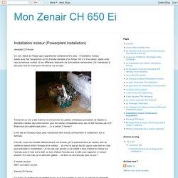 Mon Zenair CH 650 Ei: Installation moteur (Powerplant installation)