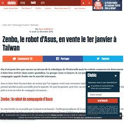 Zenbo, le robot d'Asus, en vente le 1er janvier à Taïwan