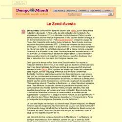 Zend-Avesta.