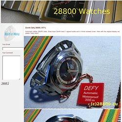 Zenith Defy 28800
