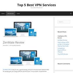 ZenMate Review: Is it Worth it?