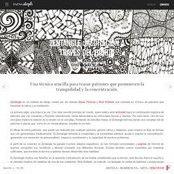 Zentangle: meditación a través del dibujo - Aleph