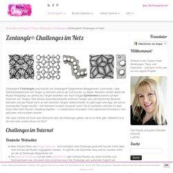 Liens de plusieurs (défis) Challenges Zentangle® dans le réseau