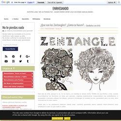 ¿Que son los Zentangles?, ¿Como se hacen?... <sub>Garabatos con Arte</sub> - enrHedando