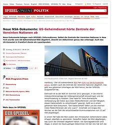 NSA hörte Zentrale der Vereinte Nationen in New York ab - SPIEGEL ONLINE - Pale Moon
