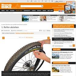 In zehn Schritten zum perfekt zentrierten Laufrad bei mountainbike-magazin.de