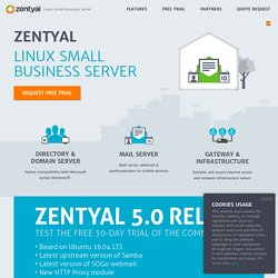 Linux Small Business Server Zentyal payant