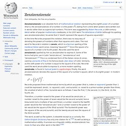 Zenzizenzizenzic