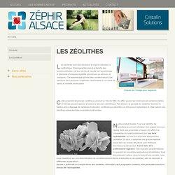 Les Zéolithes
