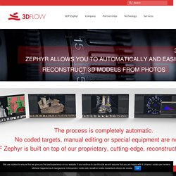 3DF Zephyr Pro - 3d models from photos - 3Dflow