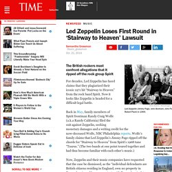 Stairway to Heaven Spirit Lawsuit: Led Zeppelin Loses First Round