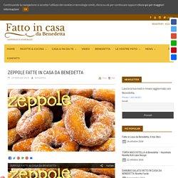 ZEPPOLE FATTE IN CASA DA BENEDETTA