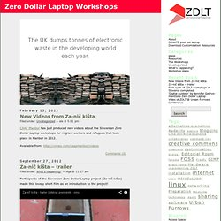 Zero Dollar Laptop Workshops