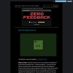 Zero Feedback