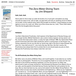 The Zero Meter Diving Team by Jim Shepard