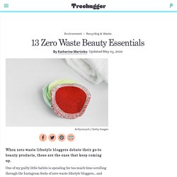 13 Zero Waste Beauty Essentials