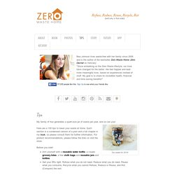 Zero Waste Home: Tips